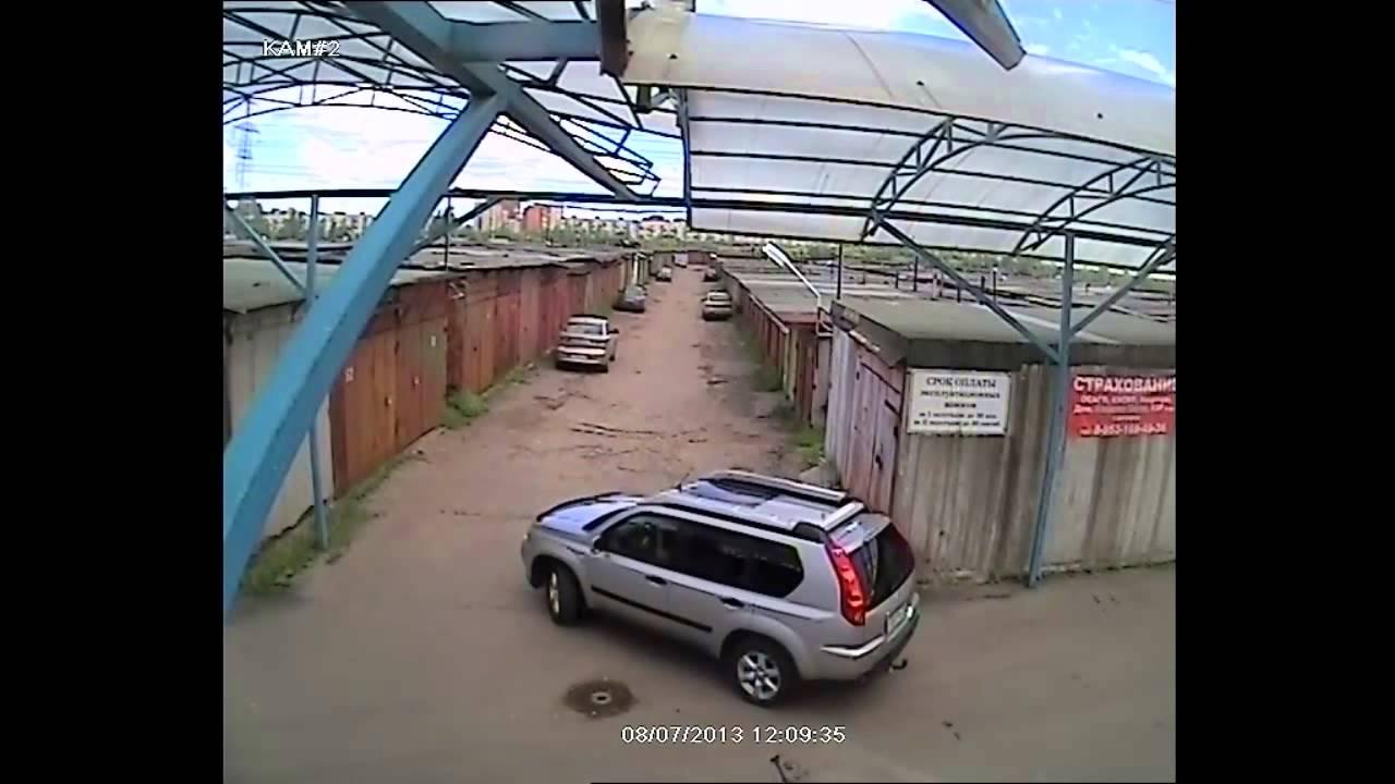 Видеонаблюдение для парковки